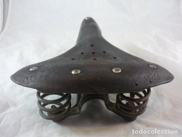 Coches y Motocicletas: Favorito Orbea - Sillin Cuero Muelles - Bicicleta Varillas - Foto 4 - 116618215