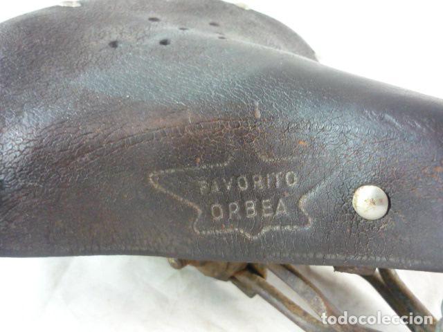 Coches y Motocicletas: Favorito Orbea - Sillin Cuero Muelles - Bicicleta Varillas - Foto 5 - 116618215