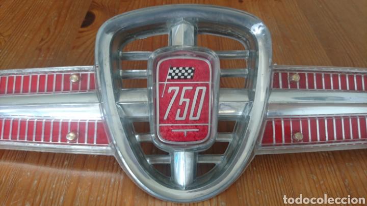 Coches y Motocicletas: Escudo frontal Fiat Seat 600 - 750 ABARTH CONTI NARDI SIATA - Foto 2 - 117004048