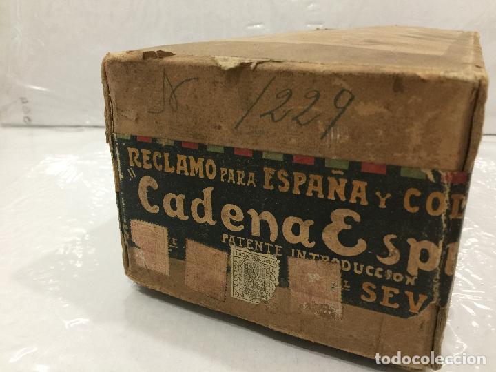 Coches y Motocicletas: CADENA ESPINO SEVILLA ESPAÑA Y SUS COLONIAS KAST&SONS NEW YORK PPOS SIGLO XX - Foto 3 - 118227231