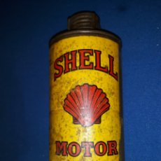 Coches y Motocicletas: ANTIGUA LATA DE ACEITE SHELL MOTOR OIL 1/4 GALÓN.. Lote 118738519