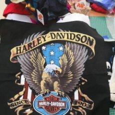 Voitures et Motocyclettes: PAÑUELO O TELA PARA CHAQUETA MOTERA O CAMISA HARLEY-DAVIDSON. Lote 119672991