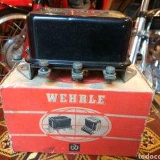 Coches y Motocicletas: COCHE- MOTO CLASICO REGULADOR VOLTAJE WEHRLE. Lote 120755835
