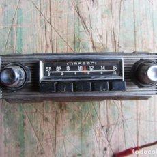 Coches y Motocicletas: RADIO DE COCHE MARCONI.. Lote 121562551