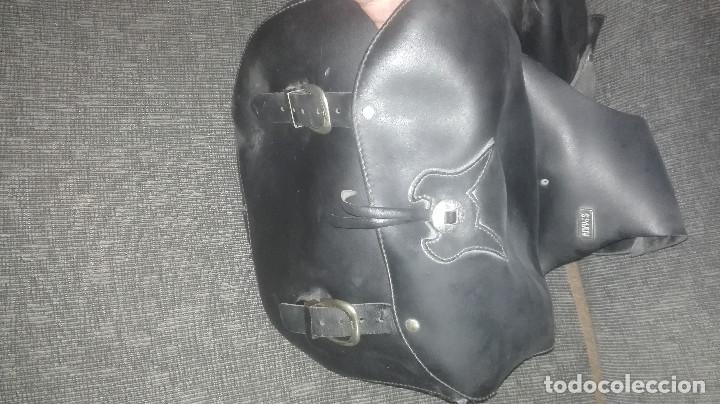 Coches y Motocicletas: alforjas de piel originales SPAAN - Foto 3 - 122233575