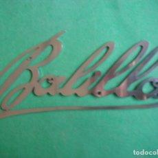 Coches y Motocicletas: LETRERO EMBLEMA BALILLA. Lote 184611653