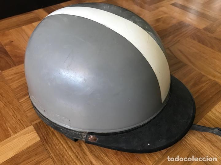 Coches y Motocicletas: Antiguo casco para motocicleta plastic Flex - Foto 2 - 126243823