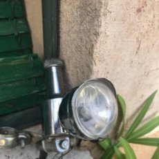 Coches y Motocicletas: DINAMO CROMADA Y LUZ TRASERA. Lote 126895987