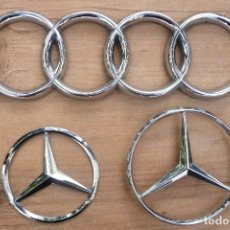 Carros e motociclos: MERCEDES/AUDI-EMBLEMAS -LOGOTIPOS. Lote 127500975