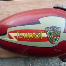 Coches y Motocicletas: MOTOCICLETA CLASICA TERROT-DEPOSITO GASOLINA. Lote 127609643