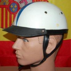 Coches y Motocicletas: CASCO ANTIGUO DE MOTO MARCA DURALEU FORTE AÑOS 50. Lote 128388783