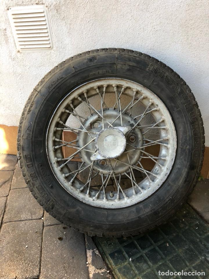 LLANTA JAGUAR E- TYPE ANTIGUO (Coches y Motocicletas - Repuestos y Piezas (antiguos y clásicos))