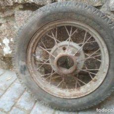 Coches y Motocicletas: RUEDA DE RADIOS. Lote 129651739
