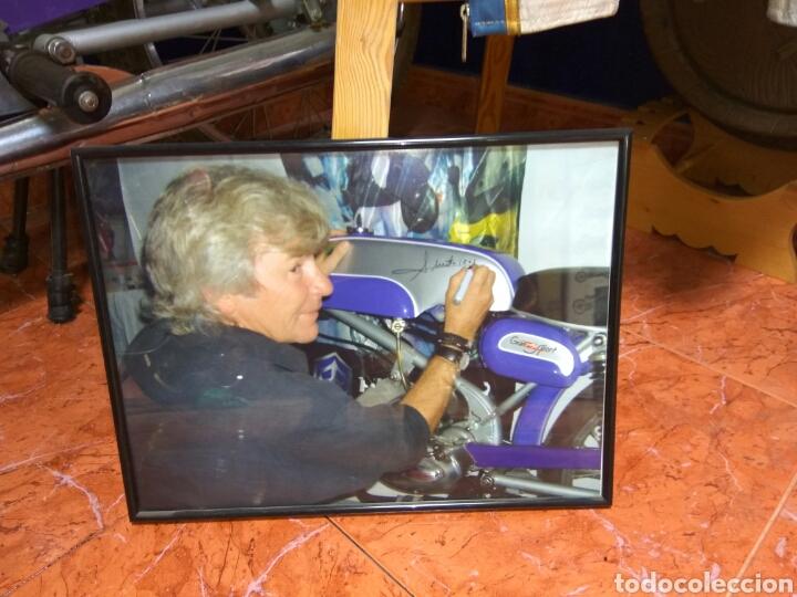 Coches y Motocicletas: ÁNGEL NIETO MOTO DERBI 49 GRAN SPORT FIRMADA,MONO CARRERAS GRAN POSTER +POSTER OFICIALES VER MAS. - Foto 5 - 130098226