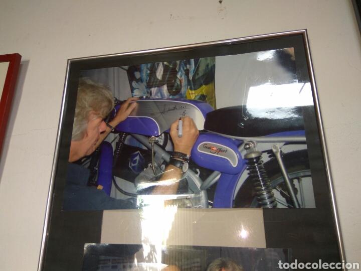 Coches y Motocicletas: ÁNGEL NIETO MOTO DERBI 49 GRAN SPORT FIRMADA,MONO CARRERAS GRAN POSTER +POSTER OFICIALES VER MAS. - Foto 6 - 130098226
