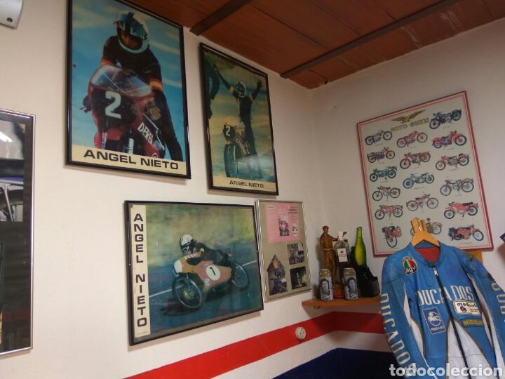 Coches y Motocicletas: ÁNGEL NIETO MOTO DERBI 49 GRAN SPORT FIRMADA,MONO CARRERAS GRAN POSTER +POSTER OFICIALES VER MAS. - Foto 8 - 130098226
