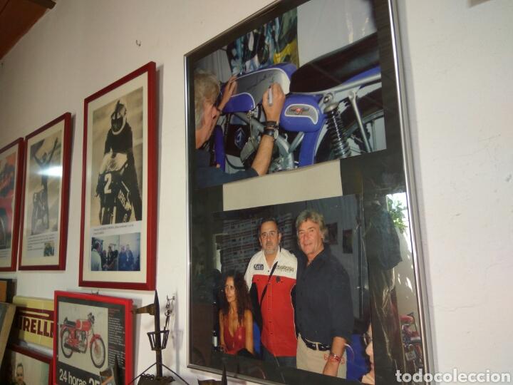 Coches y Motocicletas: ÁNGEL NIETO MOTO DERBI 49 GRAN SPORT FIRMADA,MONO CARRERAS GRAN POSTER +POSTER OFICIALES VER MAS. - Foto 10 - 130098226