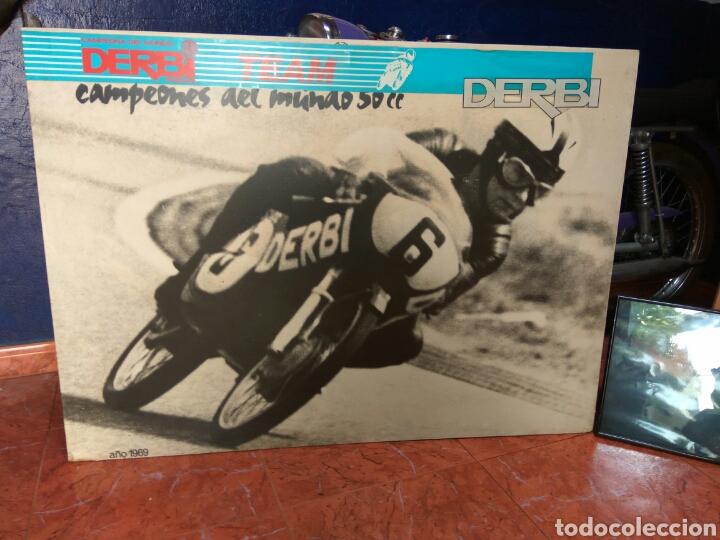 Coches y Motocicletas: ÁNGEL NIETO MOTO DERBI 49 GRAN SPORT FIRMADA,MONO CARRERAS GRAN POSTER +POSTER OFICIALES VER MAS. - Foto 15 - 130098226