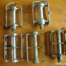 Coches y Motocicletas: LOTE PEDALES ANTIGUOS BICICLETA. Lote 131697806