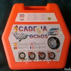 Coches y Motocicletas: CADENAS VIP OCHOS.PARA COCHES.PARA CIRCULAR EN LA NIEVE.NUEVAS.SIN USAR.. Lote 131926862