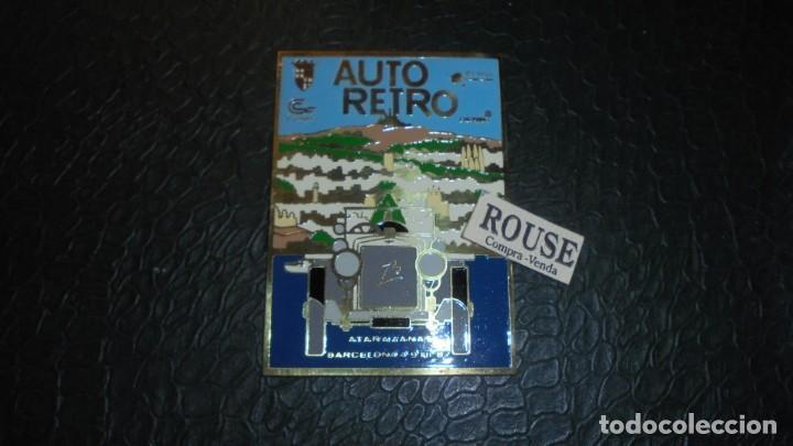 ANTIGUA PLACA AUTO RETRO BARCELONA , ATARAZANAS 4-9-XII - 87 CAMPA REPSOL DERBI 10X7 CM. PERFECTO (Coches y Motocicletas - Repuestos y Piezas (antiguos y clásicos))