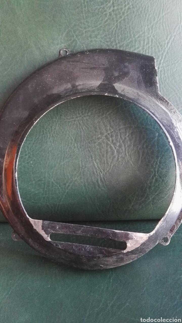 Coches y Motocicletas: Tapa cromada y hierro ventilador vespa antigua - Foto 2 - 135104501