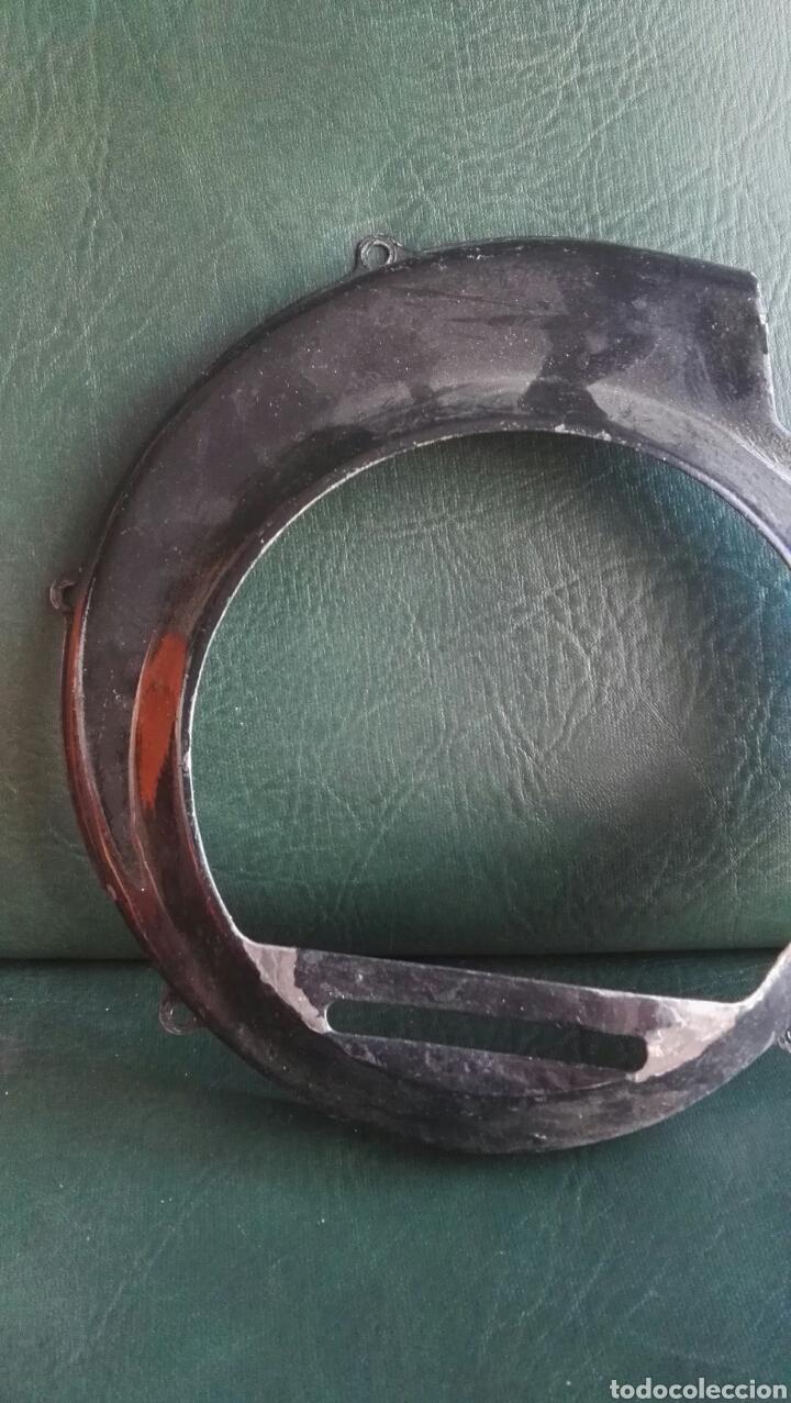 Coches y Motocicletas: Tapa cromada y hierro ventilador vespa antigua - Foto 3 - 135104501