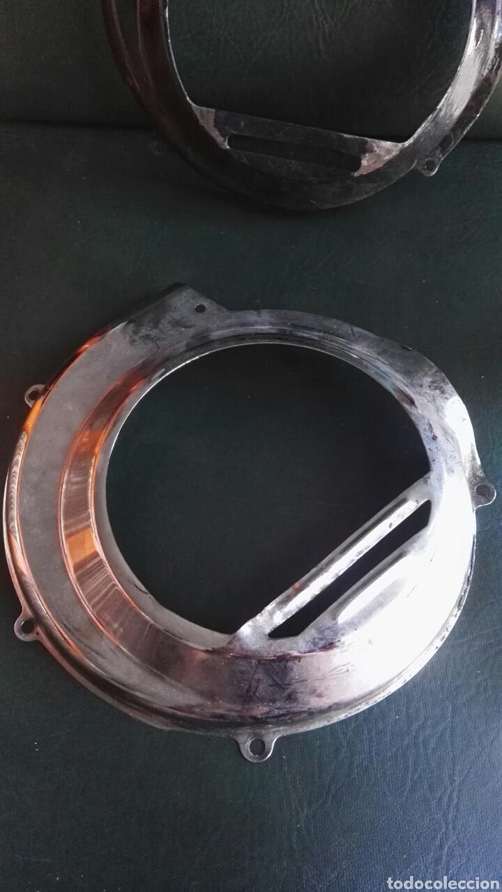 Coches y Motocicletas: Tapa cromada y hierro ventilador vespa antigua - Foto 4 - 135104501