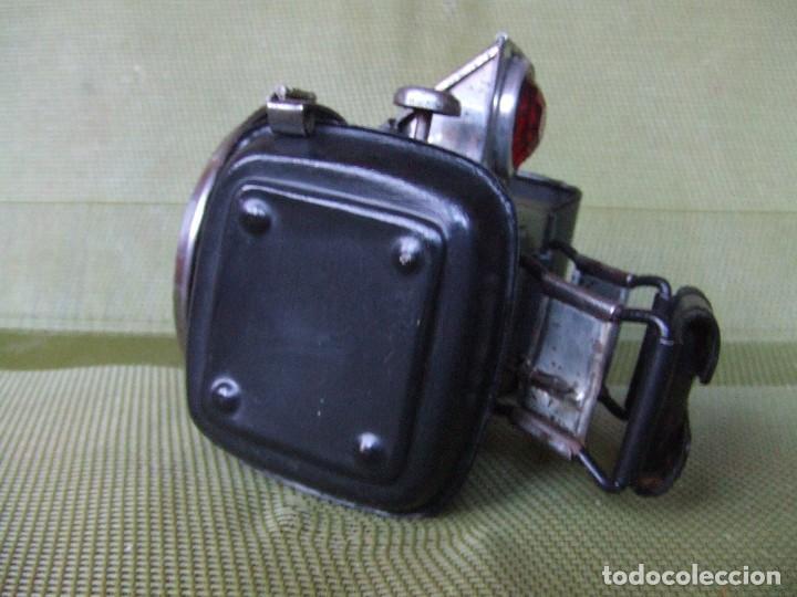 Coches y Motocicletas: FARO FAROL MILLER MOTO O BICICLETA INGLES - Foto 13 - 137156030