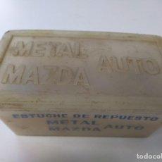 Coches y Motocicletas: CAJA REPUESTOS BOMBILLAS Y FUSIBLES SEAR 131 VER FOTOS METAL MAZDA. Lote 137403994