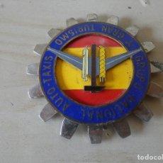 Coches y Motocicletas: CHAPA PARA COCHE DEL GRUPO NACIONAL AUTO-TAXIS Y GRAN TURISMO AÑOS 60-70. Lote 137769422