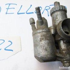 Coches y Motocicletas: CARBURADOR DELLORTO DE CUBA SEPARADA UB - 22 BS 2 - UB22BS2. Lote 278449703