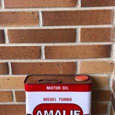 Coches y Motocicletas: LATA ACEITE AMALIE MOTOR OIL. Lote 141075977