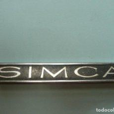 Coches y Motocicletas: EMBLEMA/ANAGRAMA ORIGINAL-SIMCA-AUTOMOVIL CLASICO. Lote 144654718