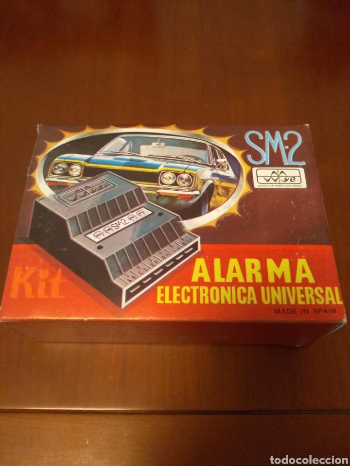 KIT ALARMA SM-2 ELECTRONICA UNIVERSAL (MADE IN SPAIN) AÑOS 80 VINTAGE (Coches y Motocicletas - Repuestos y Piezas (antiguos y clásicos))