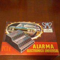 Coches y Motocicletas: KIT ALARMA SM-2 ELECTRONICA UNIVERSAL (MADE IN SPAIN) AÑOS 80 VINTAGE. Lote 141549458