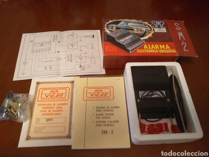 Coches y Motocicletas: Kit Alarma SM-2 electronica universal (made in Spain) años 80 vintage - Foto 2 - 141549458