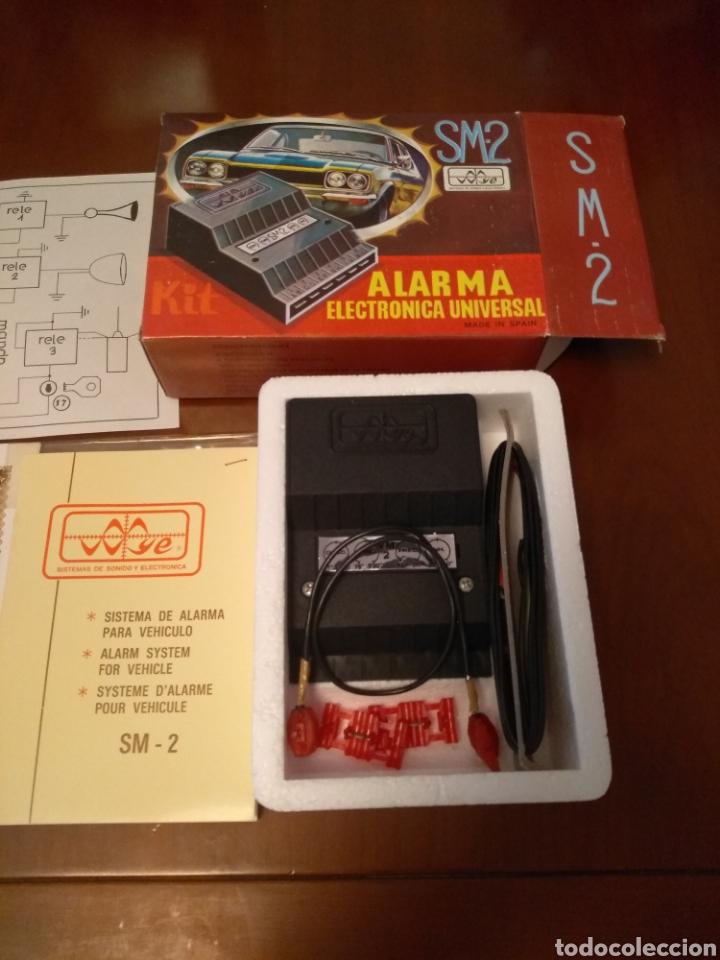 Coches y Motocicletas: Kit Alarma SM-2 electronica universal (made in Spain) años 80 vintage - Foto 3 - 141549458