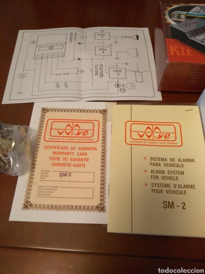 Coches y Motocicletas: Kit Alarma SM-2 electronica universal (made in Spain) años 80 vintage - Foto 4 - 141549458