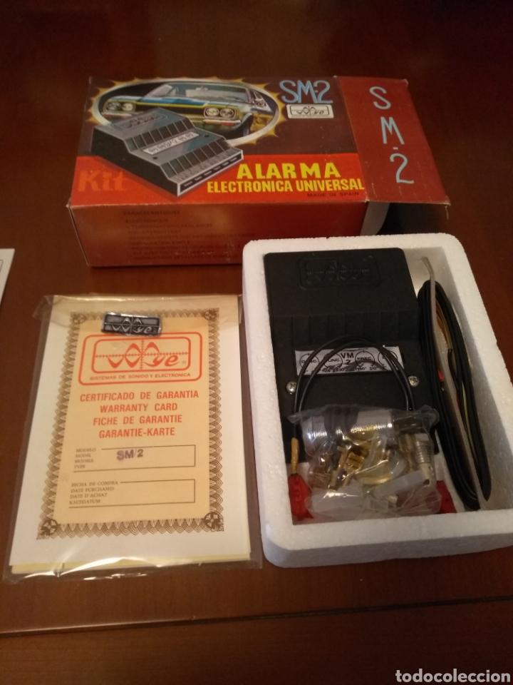 Coches y Motocicletas: Kit Alarma SM-2 electronica universal (made in Spain) años 80 vintage - Foto 6 - 141549458