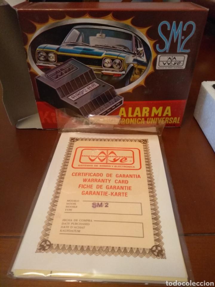 Coches y Motocicletas: Kit Alarma SM-2 electronica universal (made in Spain) años 80 vintage - Foto 7 - 141549458