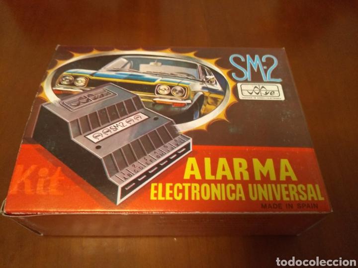 Coches y Motocicletas: Kit Alarma SM-2 electronica universal (made in Spain) años 80 vintage - Foto 9 - 141549458