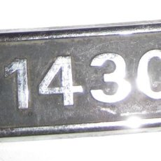 Coches y Motocicletas: ANAGRAMA ** SEAT 1430 **. Lote 141837350