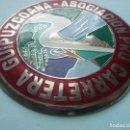 Coches y Motocicletas: ESCUDO/EMBLEMA-ASOCIACION PRO CARRETERA GUIPUZCOANA. Lote 143960494
