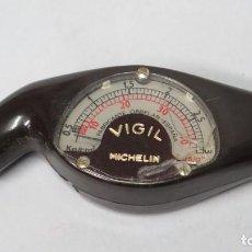 Coches y Motocicletas: MANOMETRO MICHELIN VIGIL MEDIDOR PRESION NEUMATICO . Lote 144959302