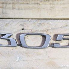 Coches y Motocicletas: LOGO PEUGEOT 305 AÑOS 60-70 INSIGNIA METAL EMBLEMA COCHE CLASICO ANAGRAMA BADGE. Lote 145305945