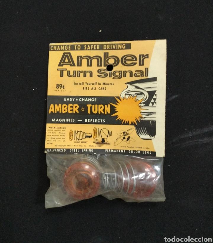 ANTIGUOS Y NUEVOS INTERMITENTES AMBAR SIGNAL, AÑOS 60 (Coches y Motocicletas - Repuestos y Piezas (antiguos y clásicos))