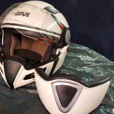 Coches y Motocicletas: CASCO MOTO GIVI. BLANCO. Lote 145707658