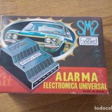 Coches y Motocicletas - ALARMA ELECTRONICA UNIVERSAL SM-2 PARA COCHE.NUEVA SIN USO. - 146722290