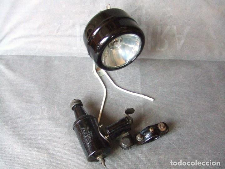 Coches y Motocicletas: FARO IMPEX DINAMO MELAS DE BICICLETA VELOMOTOR AÑOS 30 - Foto 2 - 135825518